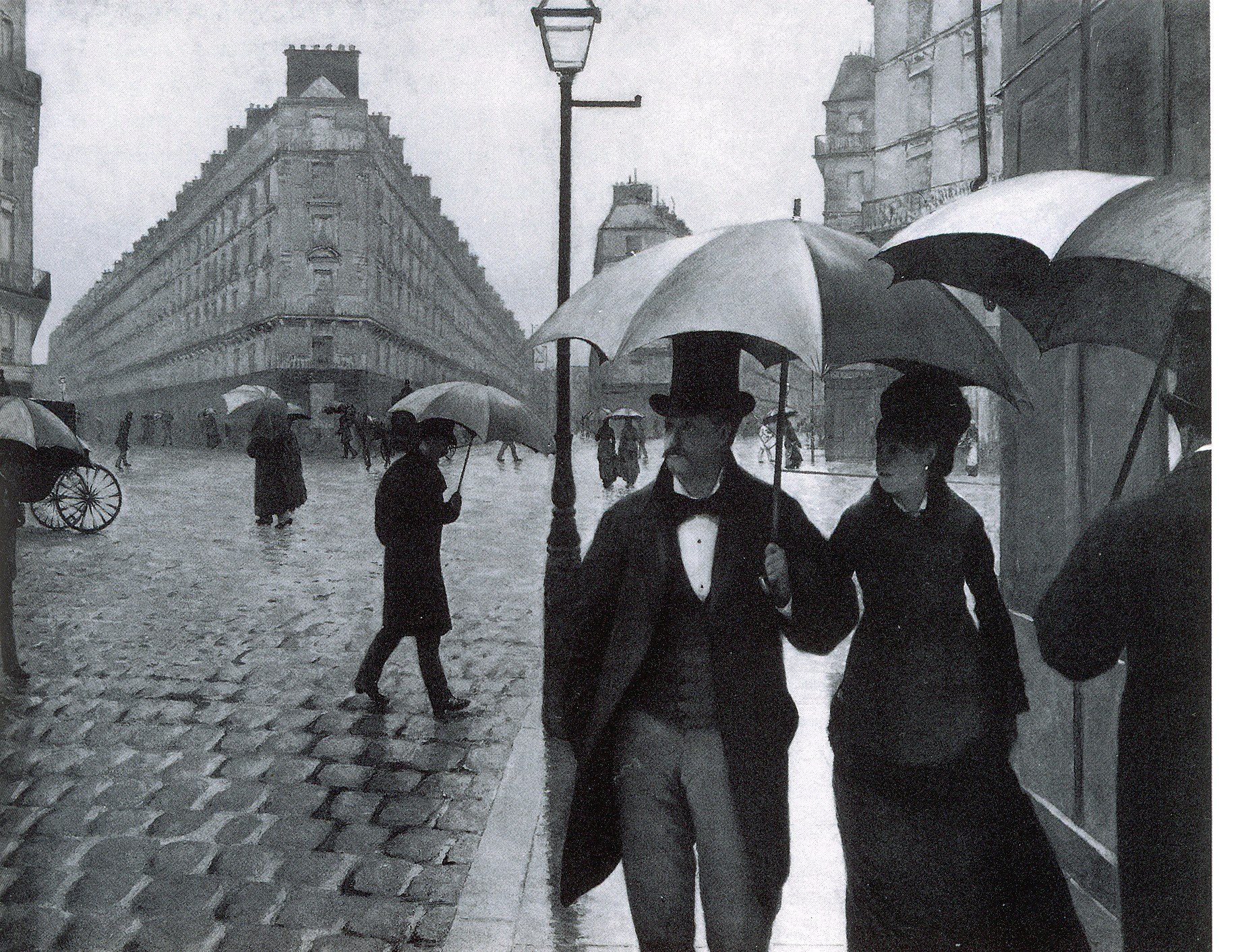 Gustave Caillebotte - Paris Street ; Rainy Day